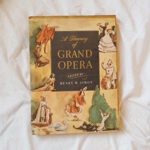 Grand Opera Art Coffee Table Book